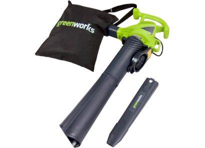 Greenworks 24022 375 CFM Electric Blower Vac