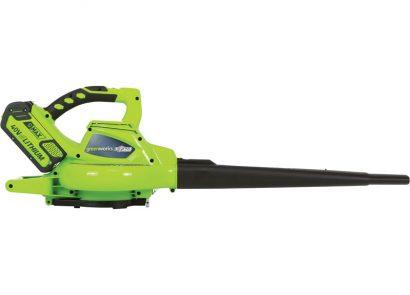 Greenworks 24322 340 CFM Cordless Blower Vac