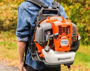 The Husqvarna 360BT in use