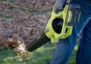 The Ryobi RY40460 in use