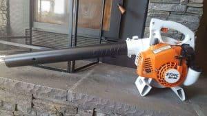 The Stihl BG 50 in use