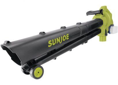 Sun Joe 24V-X2-BVM143 391 CFM Cordless Blower Vac