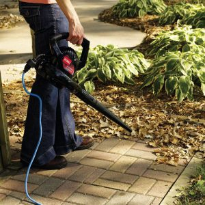 The Toro Power Sweep 51585 in use