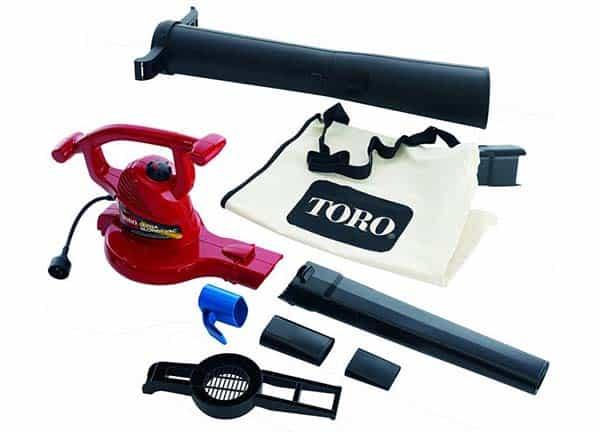 Toro Ultra Blower Vac 51609 390 CFM Electric Blower Vac