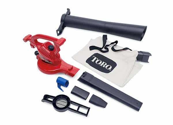 Toro Ultra Blower Vac 51619 410 CFM Electric Blower Vac