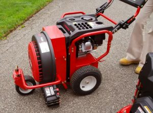 The Troy-Bilt FLEX™ in use