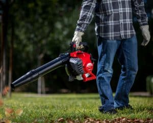 The Troy-Bilt TB27VH in use