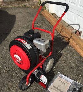 The Troy-Bilt TB672 in use