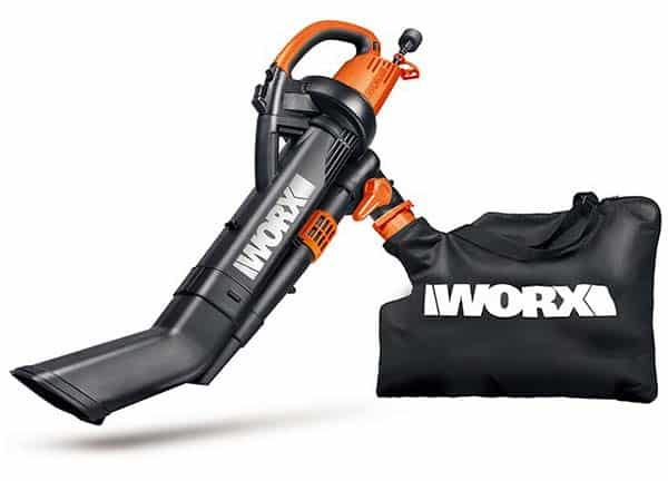 Worx TriVac WG509 350 CFM Electric Blower Vac