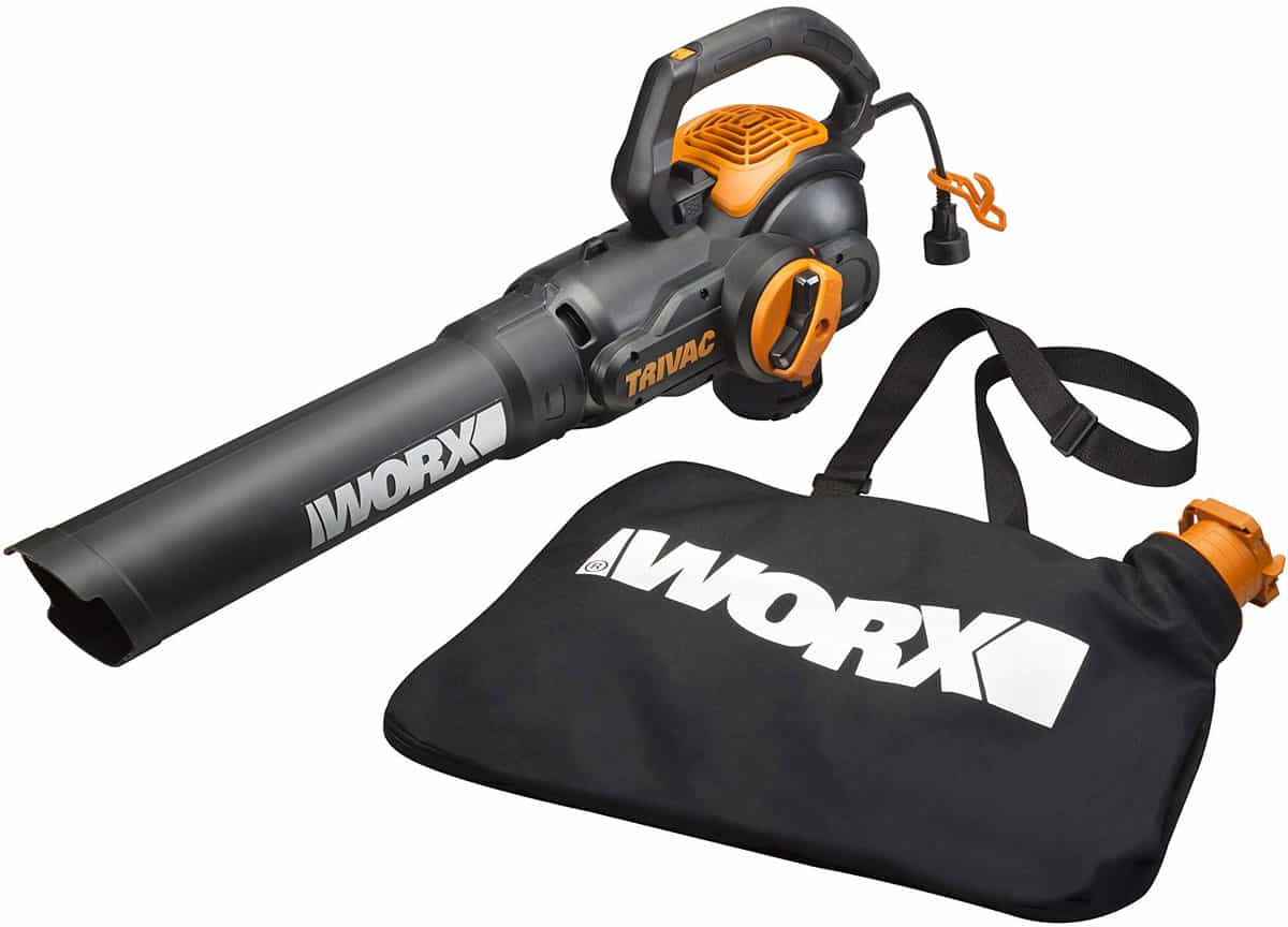 Worx Trivac Wg512 12 Amp Corded Blower Spec Review Amp Deals