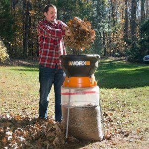 Worx WG430 leaf shredder