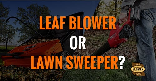 Blower Vs Lawn Sweeper featured image