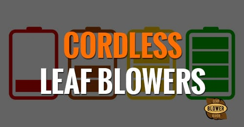 Battery Operated Amp Cordless Leaf Blowers Models Amp Specs