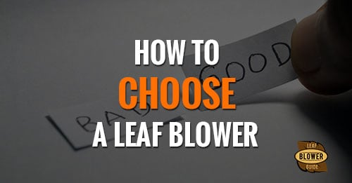 how to choose a blower featured image