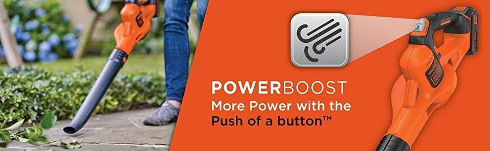 Black Decker Powerboost banner