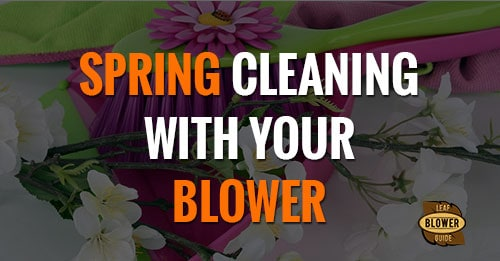 Spring cleaning with a blower featured image