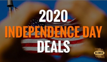 4th of July 2020 Leaf Blower Deals & Sales