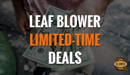Leaf Blower Limited Time Sales & Deals