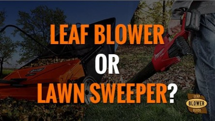 Should You Use a Leaf Blower or a Lawn Sweeper?