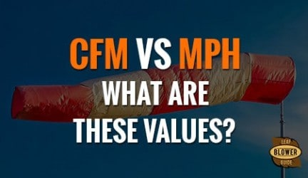 CFM vs. MPH – The Battle of Numbers