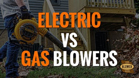 The Differences Between Electric and Gas Powered Leaf Blowers