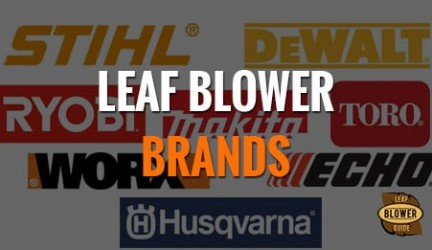 31 Best Brands of Leaf Blowers