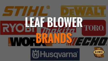 32 Best Brands of Leaf Blowers